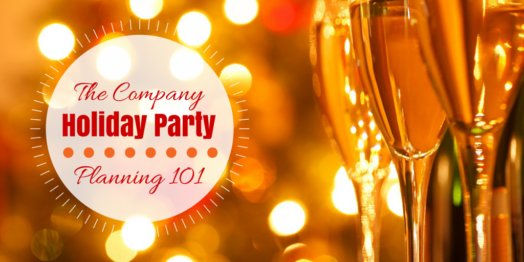bay area corporate event catering company holiday party planning 101
