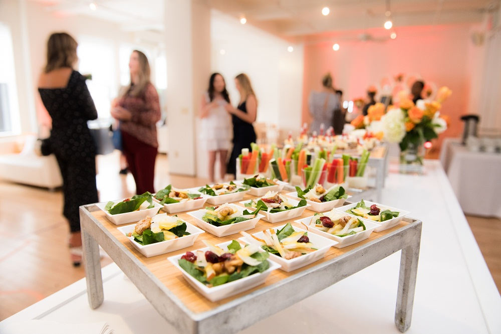 Handheld Catering serving the Bay Area