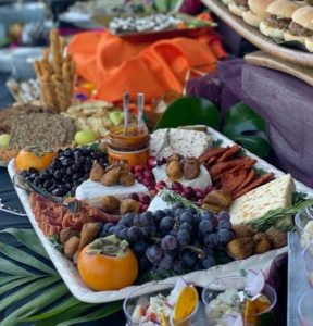 Catering menus offer guest options