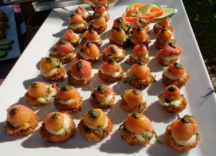 Handheld Catering Private Event Menu Ideas