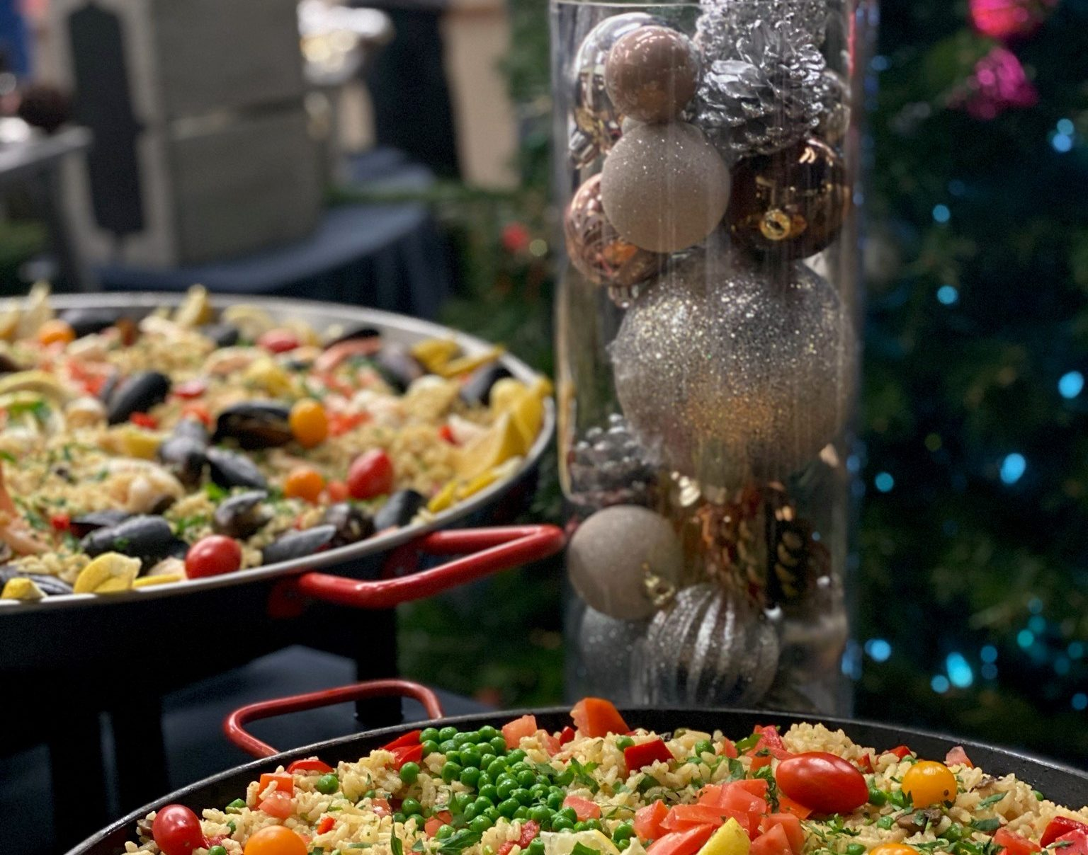 Corporate Holiday Party 2020 Handheld Catering